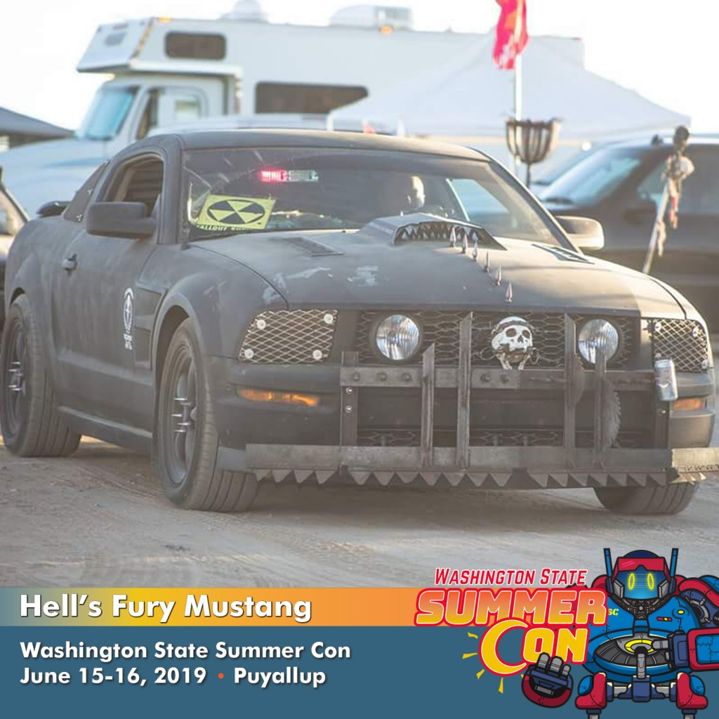 Hells fury mustang washington state summer con
